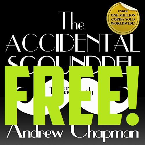 FREE Accidental Scoundrel Audiobook Cover